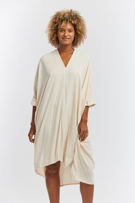 Miranda Bennett Rayon Muse Dress - Palo Santo