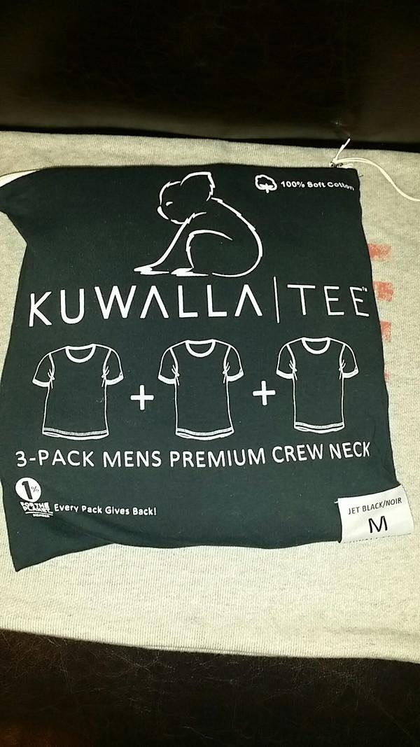 Men's KuwallaTee - 3 Pack T-Shirts Black