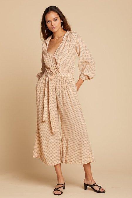 25d7426f80aa Rue Stiic Chelsea Jumpsuit - Gold Star Print ...