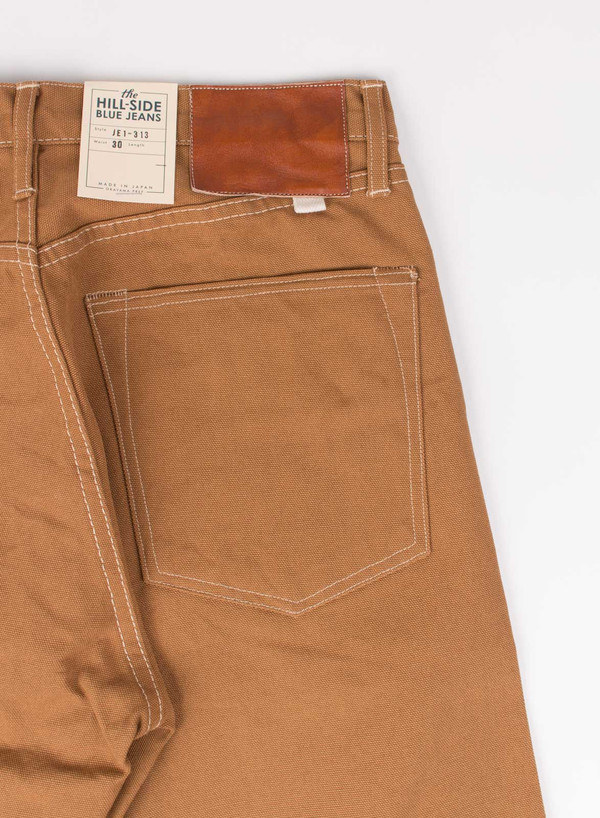 Men's The Hill-Side American Brown Duck Jeans