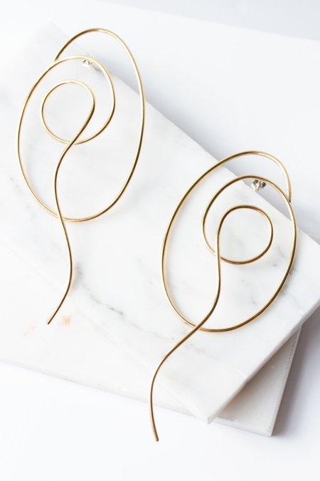 Laura Estrada Spirula Earrings