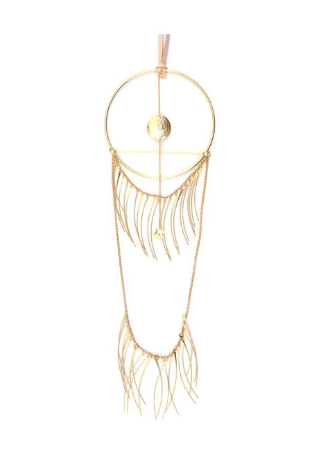 Ak Studio Incandescence Wall Hanging - Brass