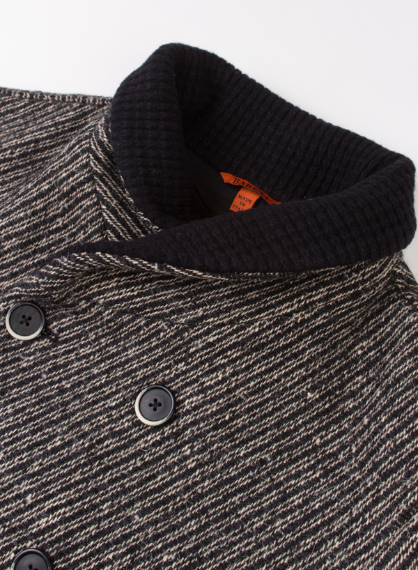 Men's Barena Coat Torba Nero