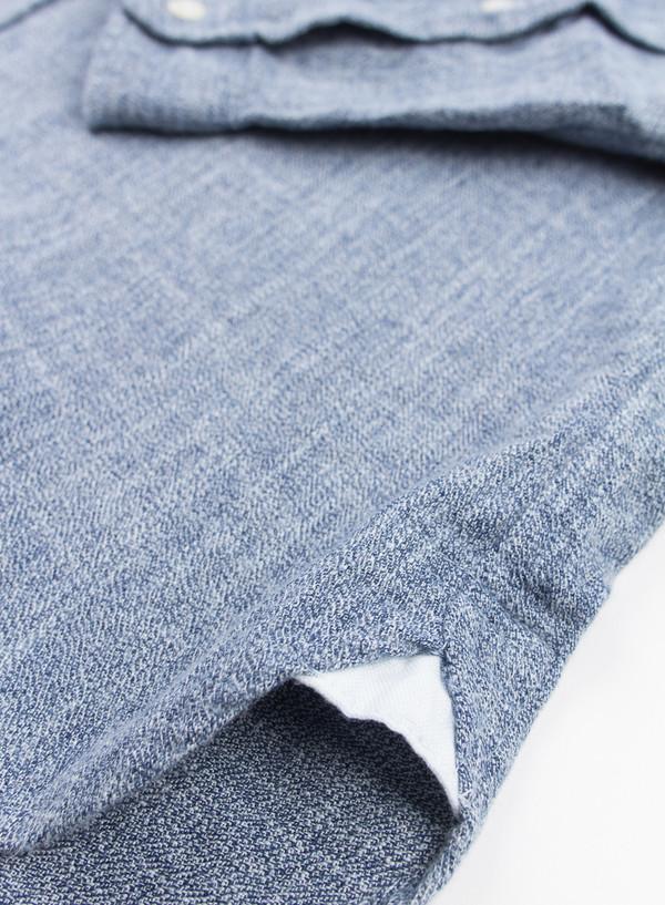 Men's Oliver Spencer Eton Collar Shirt Brinton Blue