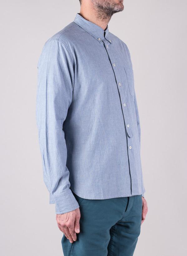 Men's Universal Works Everyday Shirt Japanese Stripe