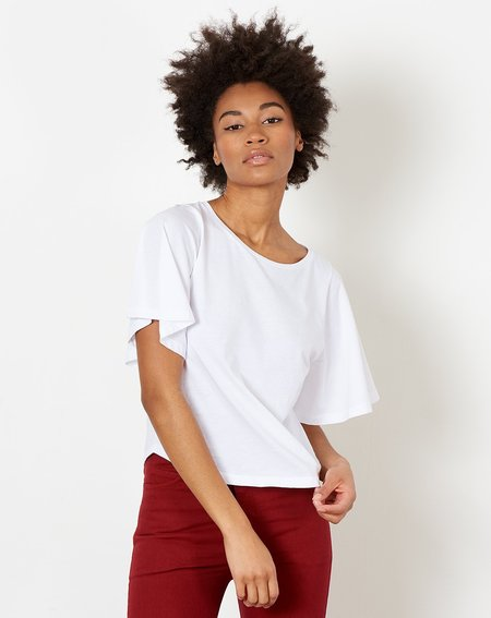 Demy Lee Sellina Top - White