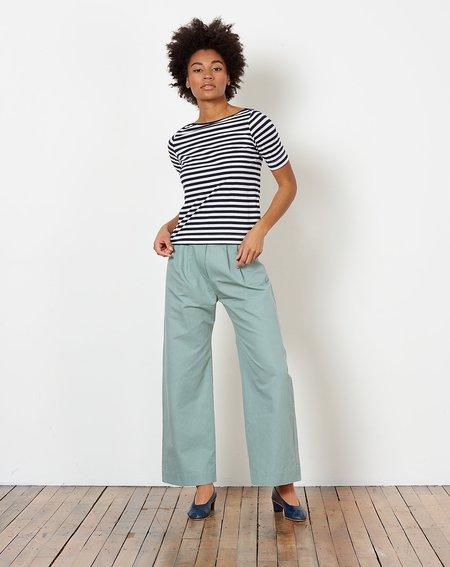 Demy Lee Vivienne Stripe Top - White/Navy