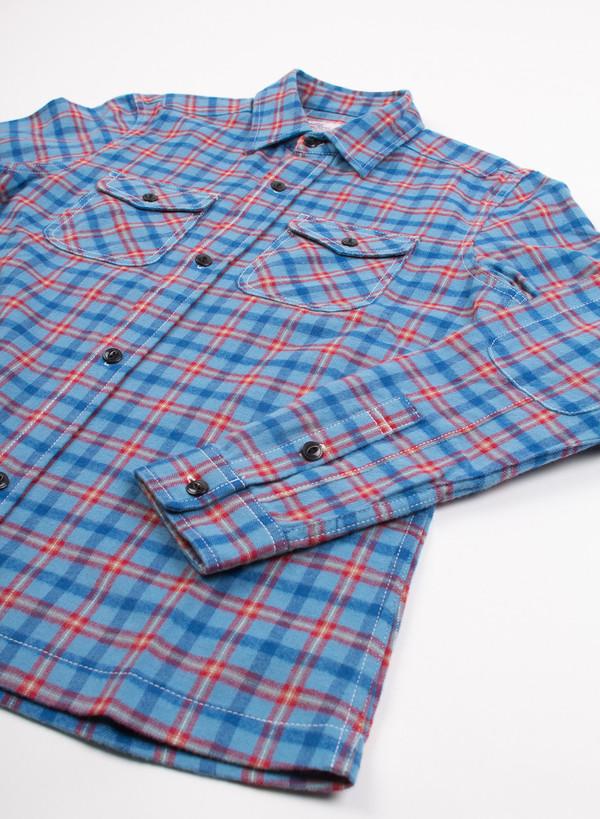 Men's Garbstore Indigo Farm 2 Pocket Shirt Blue