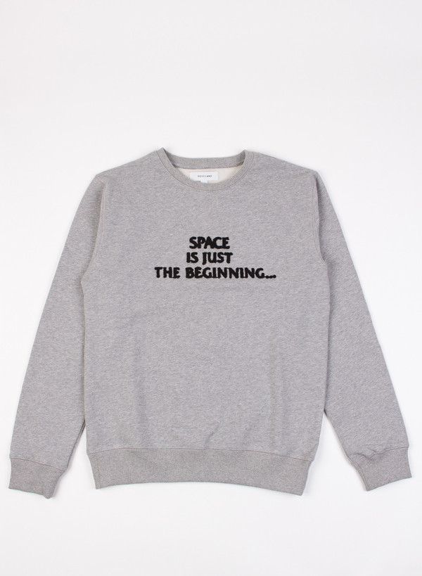 Men's Soulland Peci Sweat Grey