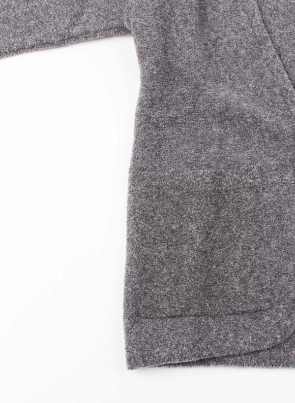 Mens Camo Sale Button Cardigan Gray