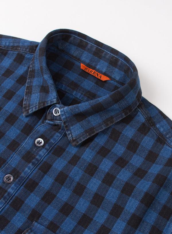 Men's Barena Shirt Olindo Navy