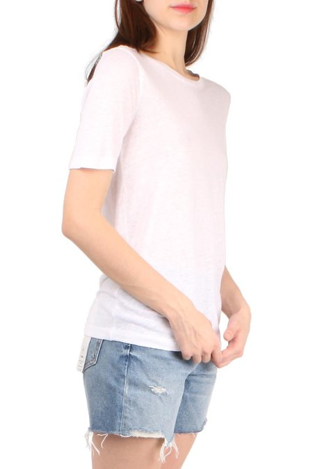 Brochu Walker Kayden Tee - Salt White
