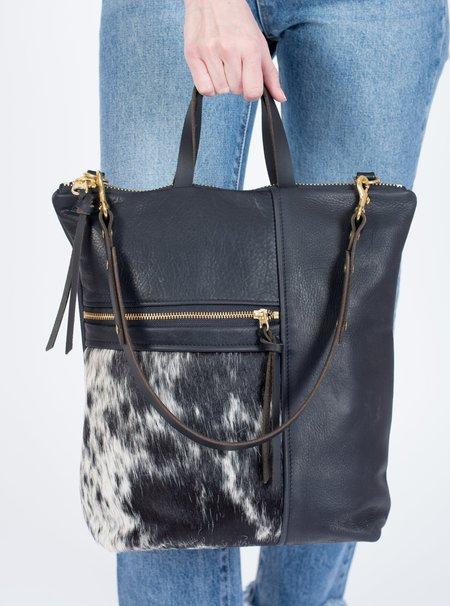 Eleven Thirty Melissa Shoulder Bag - Salt and Pepper/Black
