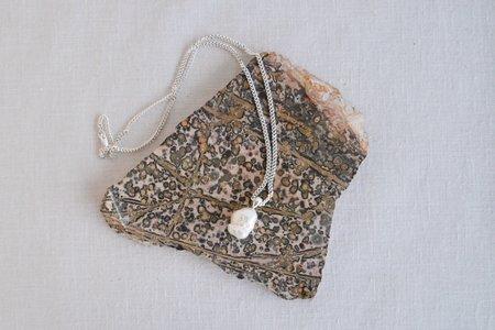 Yuun Marguerite Keshi Pearl Necklace - Silver