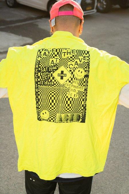 4THSEX Stadion Tee - Neon Yellow