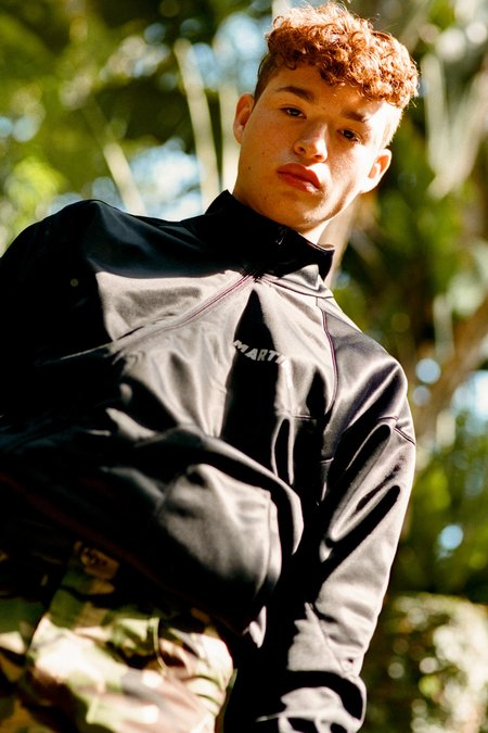 Martine Rose Twisted Zipper Track Jacket