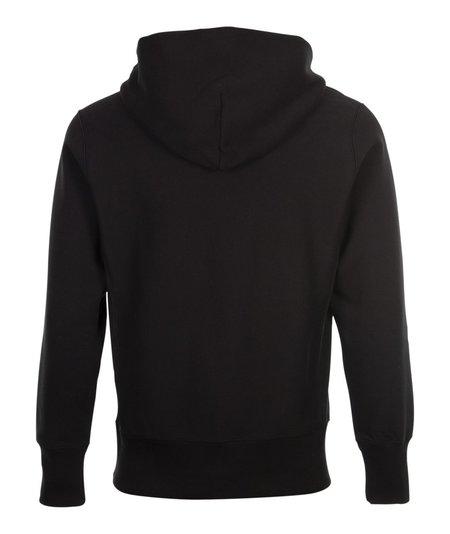 Champion Hooded Half-Zip Sweatshirt - Black