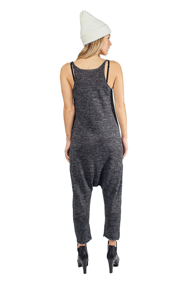 Lounger Charcoal Flax