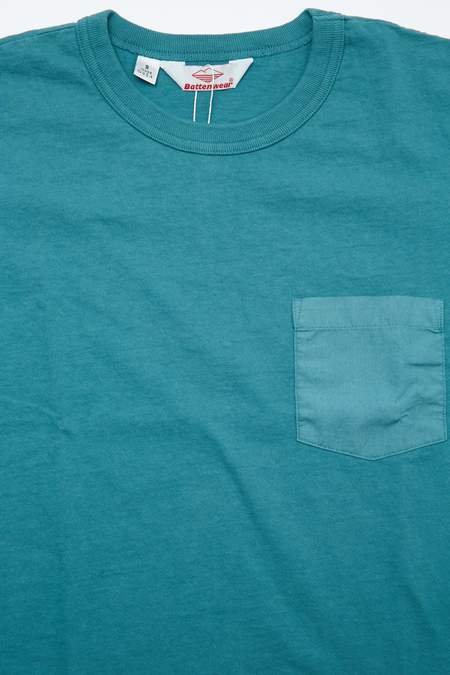 Battenwear Pocket Tee - Teal
