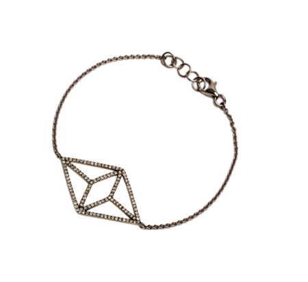 Bridget King Diamond Kite Bracelet