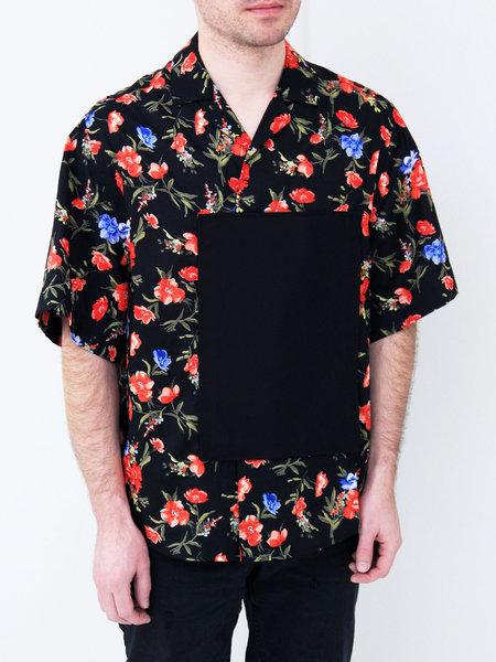 UNISEX ffiXXed Studios Pocket Patch Shirt - Black Floral