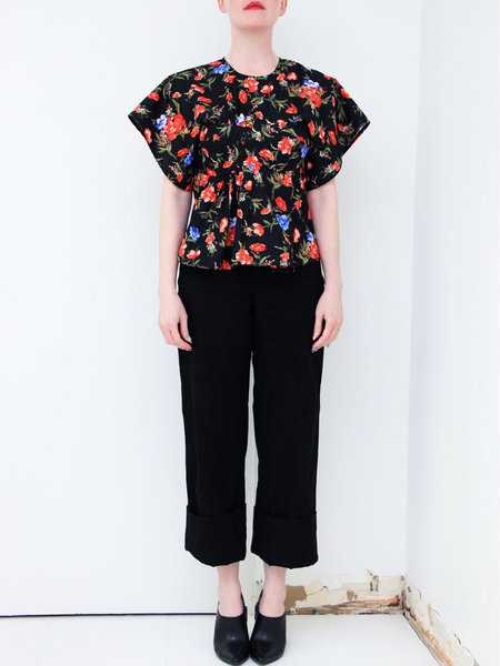 ffiXXed Studios Bra Insert T-shirt - Black Floral