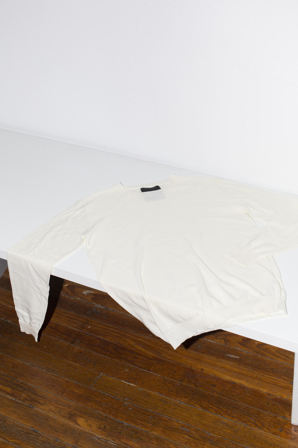 Assembly White Antwerp Cotton Pullover