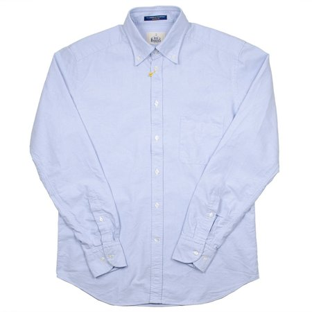 BD Baggies Bradfort BD Shirt With Pocket - Oxford Light Blue