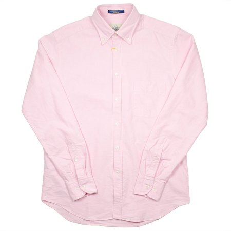 BD Baggies Bradfort BD Shirt With Pocket - Oxford Pink