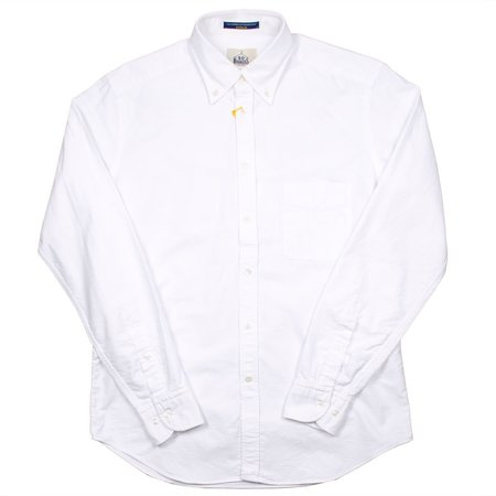 BD Baggies Bradfort BD Shirt With Pocket - Oxford White