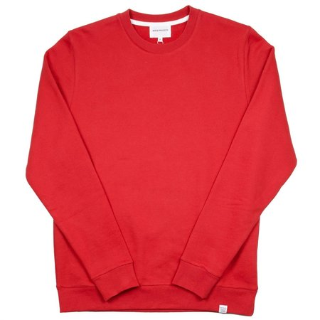Norse Projects Vagn Classic Sweatshirt - Askja Red