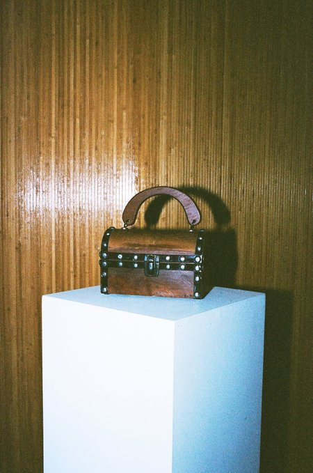 Sincerely, Tommy Vintage Treasure Box Purse