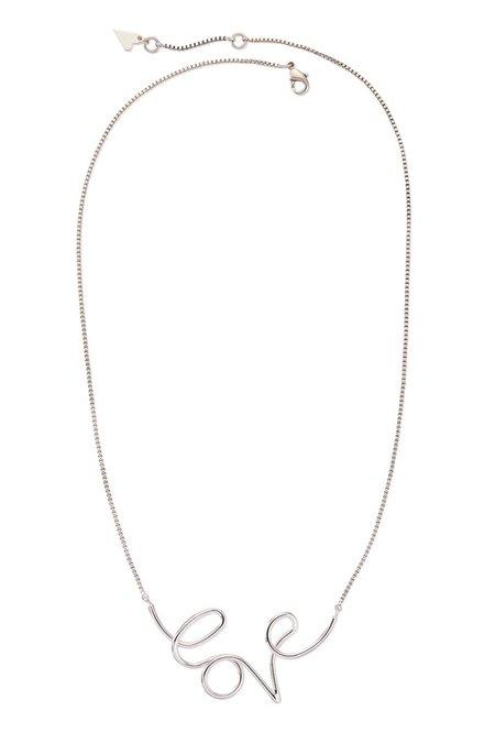 Jenny Bird Love Pendant - Silver