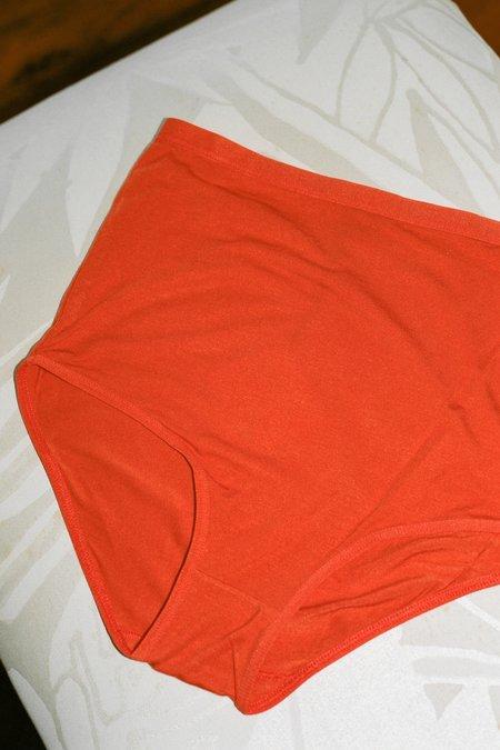 Baserange Highwaist Bell Underwear - Helix Red