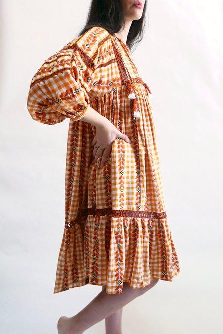 Dodo Bar Or Elena Dress - Mustard