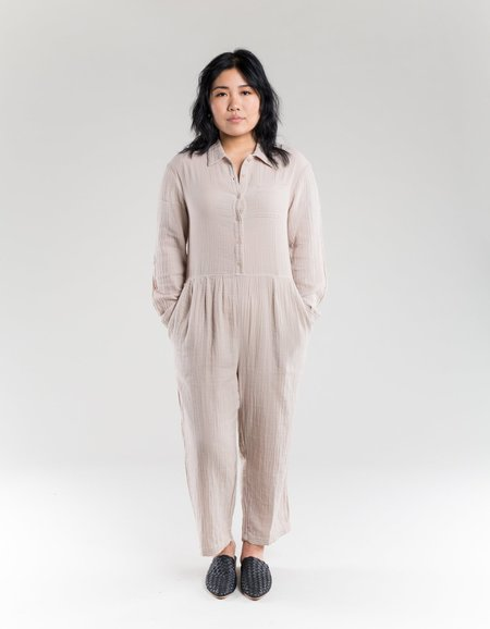 cfb28ce646db Lacausa Odessa Jumpsuit - Oatmeal Lacausa Odessa Jumpsuit - Oatmeal