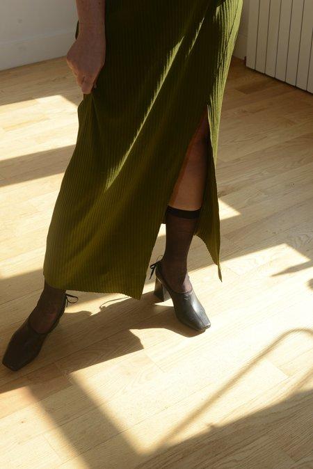 Vincetta Knit Akita Skirt - Moss
