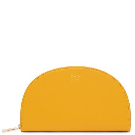 Calf Dia Continental Mirror Wallet - Honey