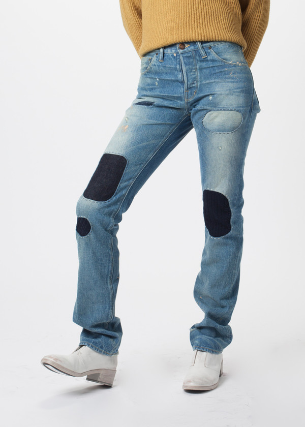 Shockoe Big Six Patchwork Denim