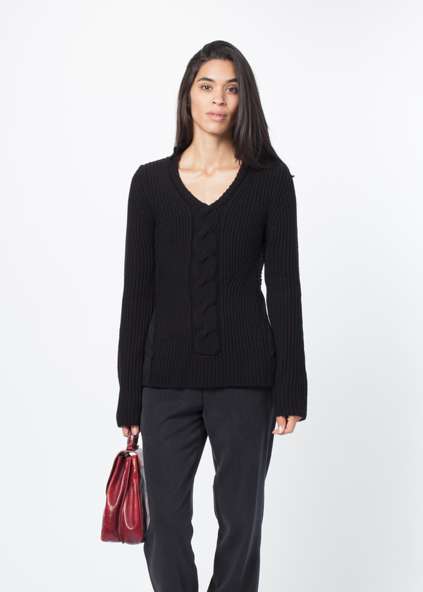 Rundholz Cable Center Pullover
