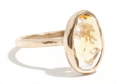 Melissa Joy Manning Sapphire Ring - Gold