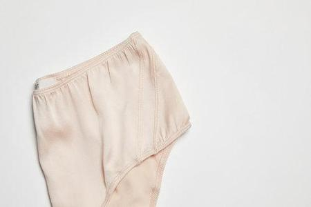 KENT BLAM High-Waist Organic Silk Brief - Winter Blush Self-Contrast