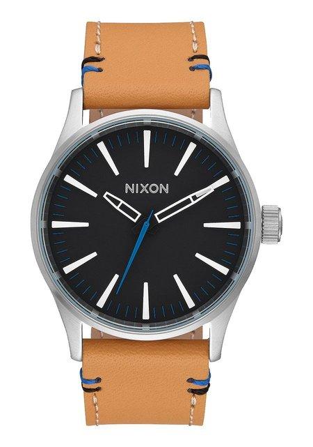 Nixon Sentry 38 Leather Watch