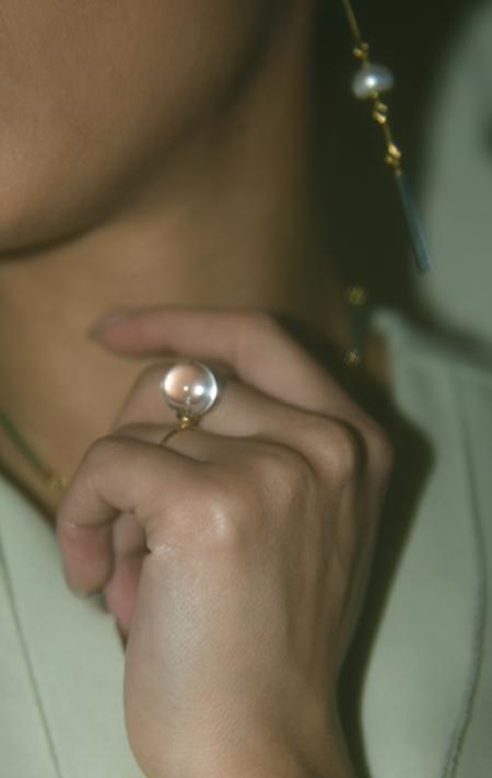 Beatriz Palacios Quartz Ring