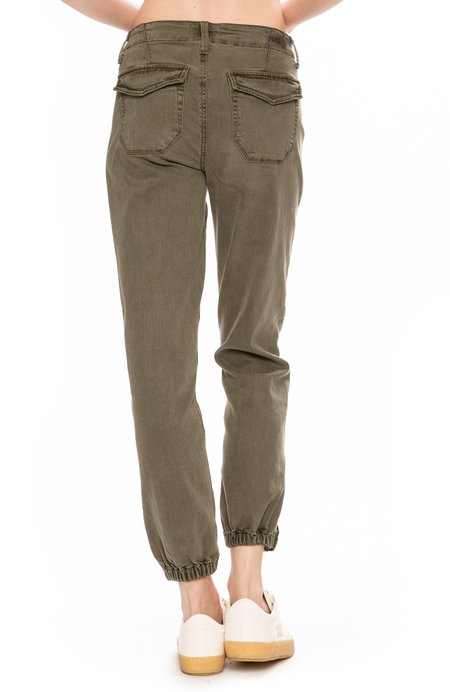Paige Mayslie Jogger Pants - Vintage Ivy Green
