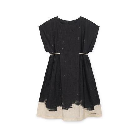 kids Little Creative Factory Haiku Dress - black
