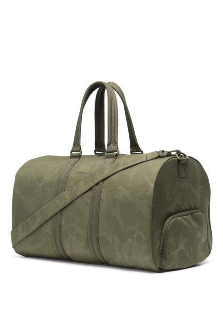 Unisex Herschel Supply Co Novel Duffle Bag - Olive Night Tonal Camo ... 17f6f2ca380b8