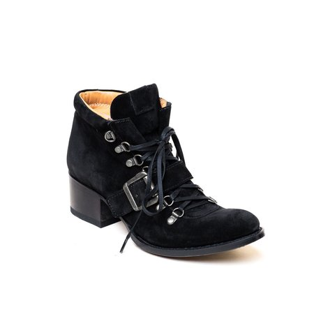 Sylven New York Legacy Boot - Black Suede