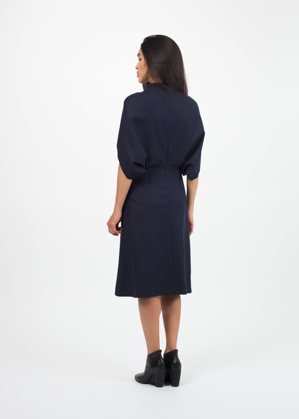Gianfranco Scotti Dot Pattern Dress