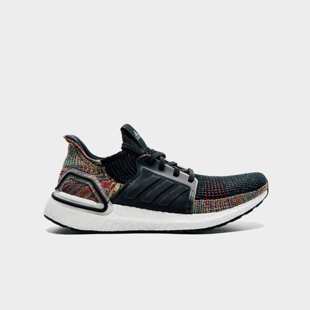 Adidas Ultraboost 19 Sneakers - Core Black/Orchid Tint S18/Active Red